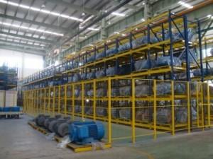 长沙电机厂-小电机事业部立体仓库