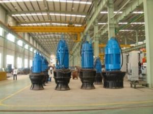 长沙电机厂公司下属的潜泵公司厂房