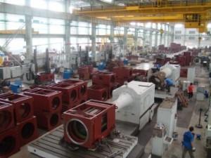 长沙电机厂大电机事业部大型设备双面镗床