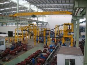 长沙电机厂有限公司小电机事业部装配流水生产线
